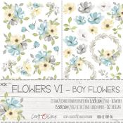 Craft O'Clock -Boy Flowers Recortables