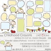 Craft O'Clock Chilhood Crayons – Hojas de recortables 7