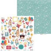 Piatek 13 - Hoja de Recortables Happy Birthday (P13-414)