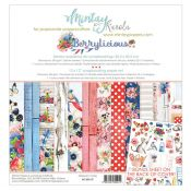 Mintay Papers - Berrylicious Scrapbooking Paper Pad 30x30 | CreActividades