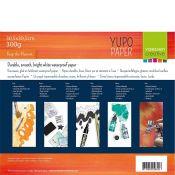 Papel Yupo para tintas de alcohol y mixed-media 30,5x30,5cm