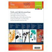 Papel Yupo para tintas de alcohol y mixed-media A4