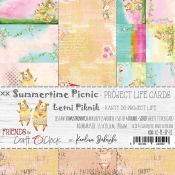 Craft O'Clock Summertime Picnic – Tarjetas Project Life