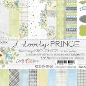 Craft O'Clock - Papel para scrapbooking Lovely Prince de 15x15