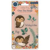 Craft Consortium | Set de sellos acrílicos Over the Hedge - Olivia the Owl