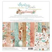 Mintay Papers - Cozy Evening Scrapbooking Paper Pad 30x30 | CreActividades