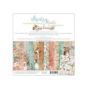 Mintay Papers - Cozy Evening Scrapbooking Paper Pad 15x15 | CreActividades