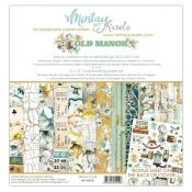 Mintay Papers - Old Manor Scrapbooking Paper Pad 30x30 | CreActividades