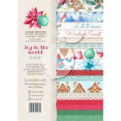 LemonCraft - Set de cartulinas para scrapbooking Joy to the World A4 (LZP-JTW02)