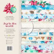 LemonCraft - Set de cartulinas para scrapbooking Joy to the World 15x15 (LZP-JTW03)
