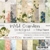 Craft O'Clock - Papel para scrapbooking Wild Garden de 15x15cm