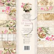 LemonCraft - Set de cartulinas para scrapbooking House of Roses Extra 15x15 (LZP-HOUSE02)