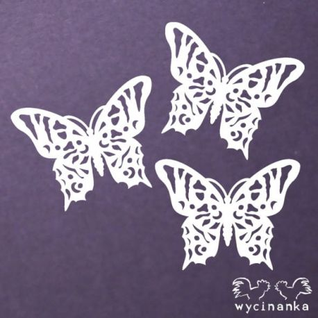 Laser Cut - Mariposa