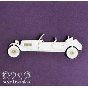Laser Cut - Coche antiguo