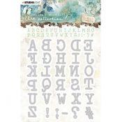 Troqueles Alfabeto Jenine's Mindful Art