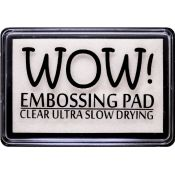 Tinta embossing - Clear Ultra Slow Drying