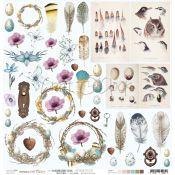 Hummingbird Song - Hoja de recortables