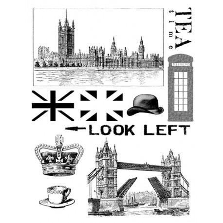 Sellos Acrílicos - London Vintage