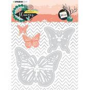 Troqueles Sweet Flowers - Mariposas