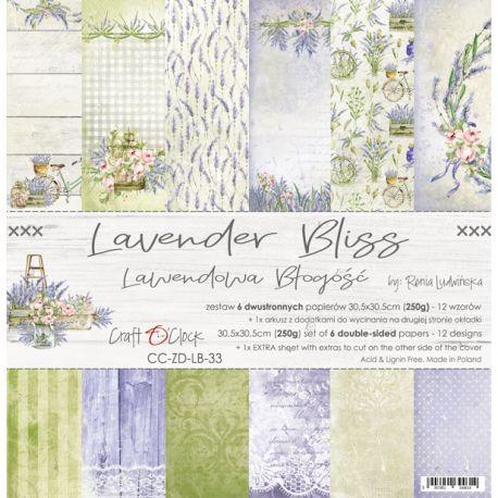 Lavender Bliss Paper Set 30x30