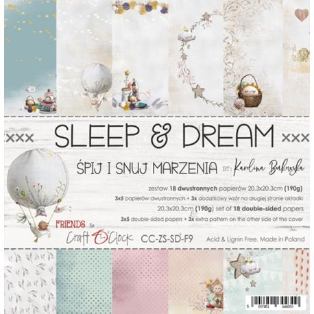 Sleep and Dream Paper Set 20x20