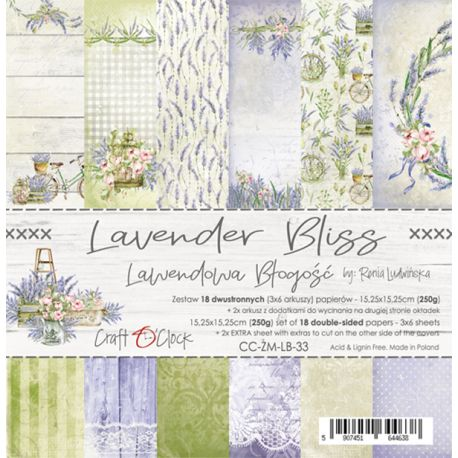Lavender Bliss - Paper Set 15x15
