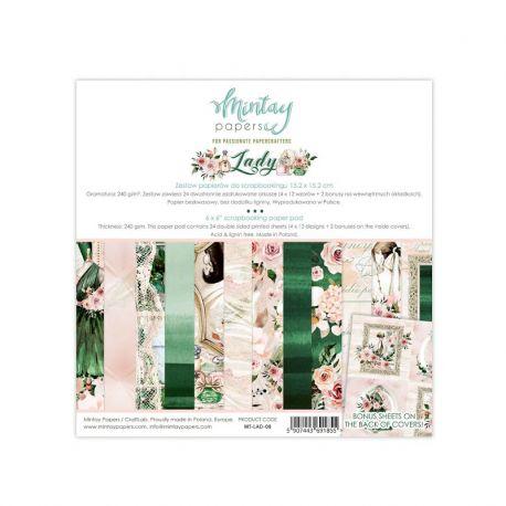 Lady 15x15 Paper Pad