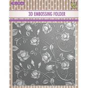 3D Embossing Folder Rose