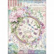 Papel Arroz A4 Clock