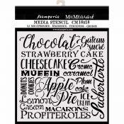 Stencil Chocolate