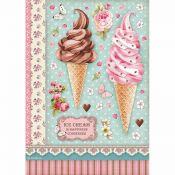 Papel Arroz A4 Ice Cream