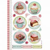 Papel Arroz A4 Mini Cakes