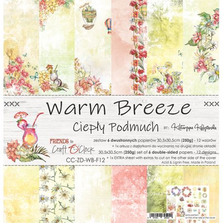 Warm Breeze Paper Set 30x30