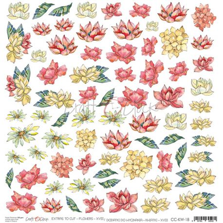Warm Breeze - Extras to cut Flowers XVIII