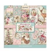 Pink Christmas Paper Pack 20X20