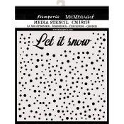 Stencil Let it snow