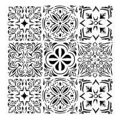 Stencil Bella - Italian Floor