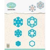 Set Troqueles Copos de nieve en capas 02