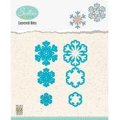 Set Troqueles Copos de nieve en capas 03