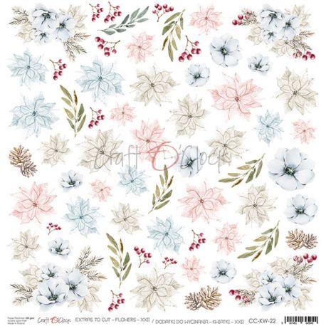 Frosty Sparking - Extras to cut Flowers XXII