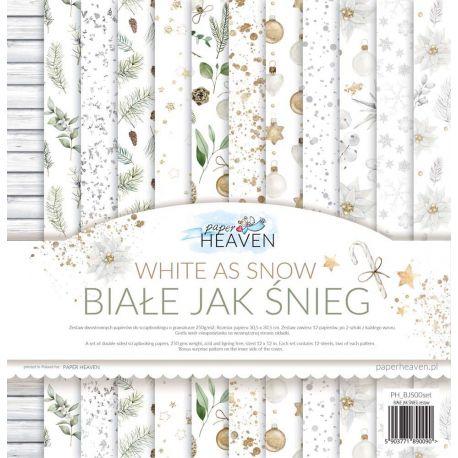 White as Snow 30x30 Paper Pad