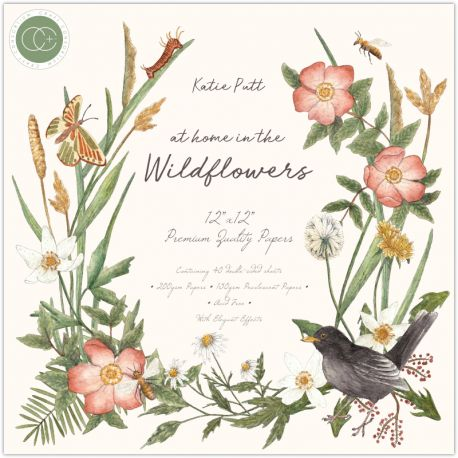 At home in the wildflowers paper Pad