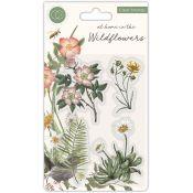Set Sellos Acrílicos Wildflower - Flora
