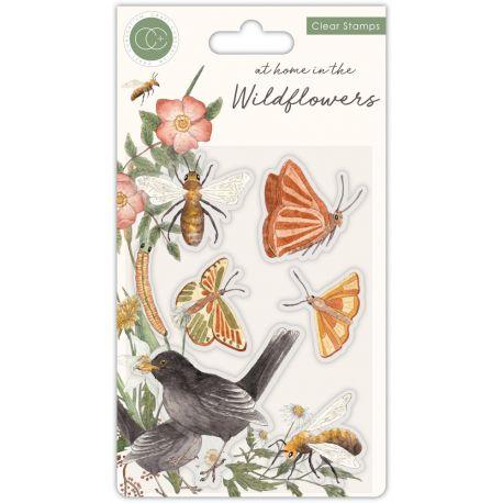 Set Sellos Acrílicos Wildflower - Bees