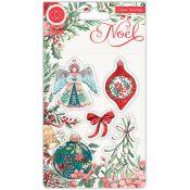 Set Sellos Acrílicos Noel - Decorations