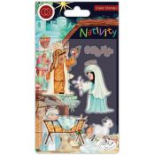 Set Sellos Acrílicos Nativity - Nativity