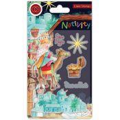 Set Sellos Acrílicos Nativity - Bethlehem
