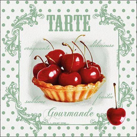Servilleta Red Cherries