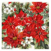 Servilleta Poinsetia All Over