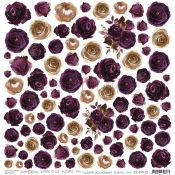 Plum In Chocolate - Extras to cut Flowers XXV